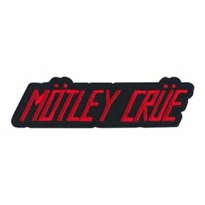 MOTLEY CRUE - BAND LOGO - EMBROIDERED PATCH - BRAND NEW - MUSIC BAND 5316