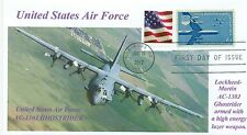 AC-130J GHOSTRIDER US Air Force New Gunship Aviation Lockheed First Day of Issue