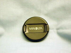 MINOLTA ORIGINAL 49mm JAPAN MADE LENS CAP