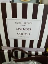 Henri Bendel Home Lavender + Cotton 14.5 Oz 3-wick Candle
