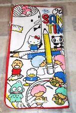 Sanrio x U Magazine Hello Kitty Twin Star Towel Bottle Pouch Pencil Case MIP