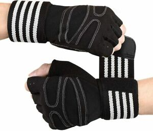 Gants XL L M Musculation Fitness Sport Gants Antidérapant Silicone Levage Poids
