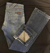 7 for All Mankind Button Split Leg Jeans Size 28