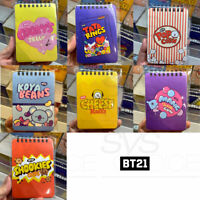 BTS BT21 Official Authentic Goods Spring Mini Note Snack Ver 85x120mm 80P