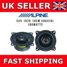 """ALPINE SXV-1025E 10 cm (4"""") 2 VIE 180 W Auto Altoparlanti Porta Scaffale"""
