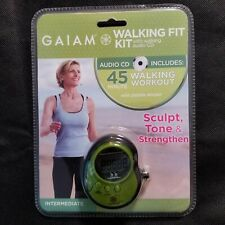 Gaiam Pedometer with Walking Workout Audio CD Debbie Rocker Exercise Cardio