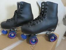 Chicago Men's Classic Roller Skates Black Quad Rink Skates Size 7 US