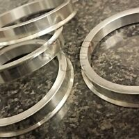 Aluminium Alloy Wheel Hub Centric Spigot Rings 72.6 - 66.6 Spacer Set of 4 Merc