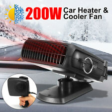 200W 24V Dc Electric Auto Heating Cooling Heater Fan Defroster Demister Car Us