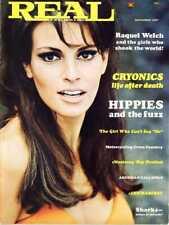Real Magazine Stunning Raquel Welch Cover 1967 Ann-Margret Monterey Pop Festival