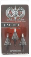 Axe Hatchet  Broadheads 3 Blade 100 Gr New.