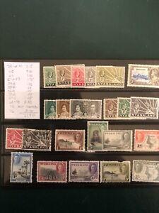 NYASALAND stamps-Lot 23 different- all I'd- cv$27