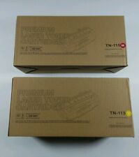 TN-115m Magenta and TN-115Y Yellow Laser Toner Cartridge for Brother Printers
