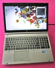 HP Elitebook 8570p laptop Intel I7-3740qm 2.7-3.7ghz 8GB NEW 500GB AMD 7570m W7