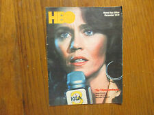 De-1979 HBO Home Box Office TV Mag(JANE FONDA/THE CHINA SYNDROME/MICHAEL DOUGLAS