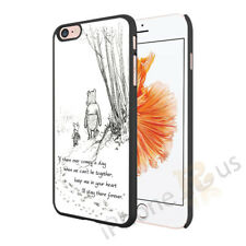 Winnie The Pooh Quotes Case Cover For Apple Samsung Xperia Huawei HTC 2 049