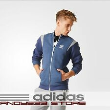 adidas Originals Track Jacket Men Suit Sweatshirt Fall Mélange French Terry XL