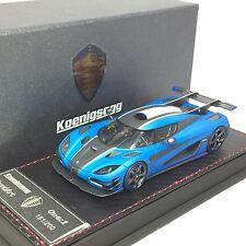 1/43 Frontiart Koenigsegg One1 Matt Blue Resin Ltd 150 pcs #F038-22