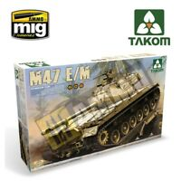 US Medium Tank M47 E/M 2 in 1 1/35 Takom