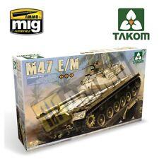 US mittel Tank M47 E/M 2 in 1 1/35 Takom