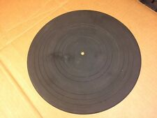 """Rubber Mat 11 7/16"""" for vintage turntable marked D 12"""