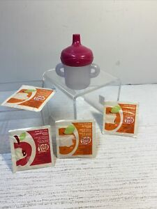 Hasbro Baby Alive Doll Juice Mix Packets + Replacement Bottle Sippy Cup