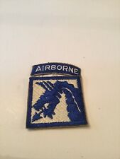XVIII Airborne Corp Patch With Tab