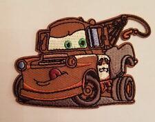 Mater Tow Truck Iron On/ Sew On Patch - Disney's Cars Applique - READY TO SHIP!