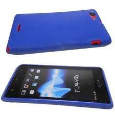 Sony Xperia J ST26i Case TPU-Case blue