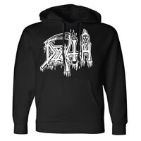 DEATH Classic Logo Pullover Hoodie NEW! Relapse Records SS4155