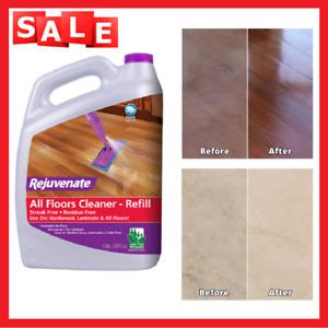 128 Oz. Floor Cleaner, Rejuvenates, Dull Hardwood Floors and Restores Luster NEW