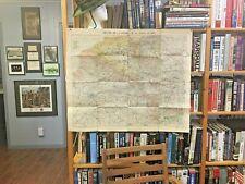 Ww I, Map, Ww I aviators family estate, Folded w/operations area shown by use