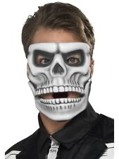 Halloween Fancy Dress Day of the Dead Skeleton Mask EVA Moving Jaw Mask Smiffys