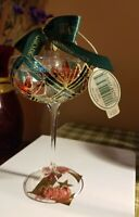 "Waterford Holiday Heirlooms ""New Years 2000 Toast"" Champagne Glass Ornament IOB"