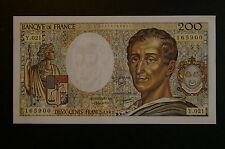 Billet de 200 Francs Montesquieu type 1981 de 1983 /  NEUF