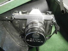 PENTAX 35mm FILM CAMERA with case and zoom  lenses