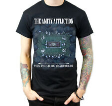 The Amity Affliction This Could Be Heartbreak Men Black Tee T-Shirt Size S -XXL