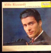 Aldo Rizzardi El El Festival De San Remo Lp Peerless Records