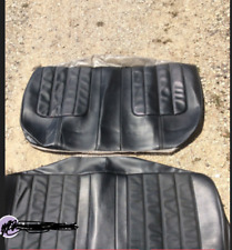 1970 Buick Skylark GS GSX black convertible rear seat cover NEW project cars