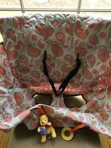 Shopping Cart Handle Cover 100% Cotton Pink Paisley Wholesale Clubs Costco BJs