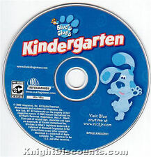 BLUE'S CLUES KINDERGARTEN Kids Educational Blues for Windows & Mac PC Game NEW