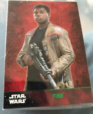TOPPS Star Wars The Force Awakens 100 Card Green Parallel Set