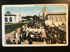 Vintage Postcard>1915-1930>Southeastern Fair Gardens>Atlanta>Georgia