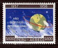 Peru 599 **, Intern. Geophysikalisches Jahr