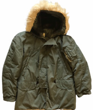 Vintage Original USAF N-3B Parka Extreme Cold Weather Lancer Clothing 60's Sz M