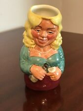 Royal Doulton. Doultonville. Toby Jug. D.6716. 1983. BETTY BITTERS the BARMAID