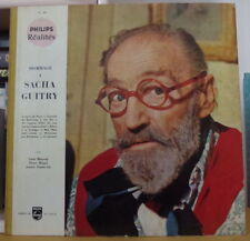 HOMMAGE A SACHA GUITRY FRENCH LP PHILIPS REALITES 1959