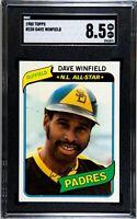 1980 Topps - Dave Winfield - #230 - SGC 8.5 - NMMT+ - HOF