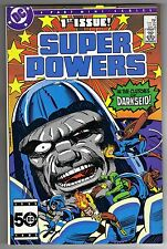 SUPER POWERS 2 #1 - JACK KIRBY ART & COVER - DC COMICS - 1985