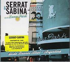 Serrat y Sabina En el Luna Park CD+DVD Desde Buenos Aires Argentina  NEW NUEVO